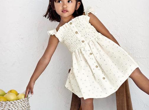 Mayoral 3933 printed dress