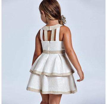 Mayoral 3925 bloth linen dress