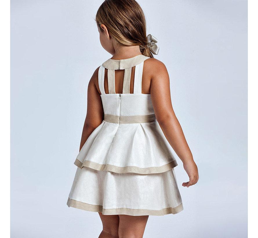 3925 bloth linen dress