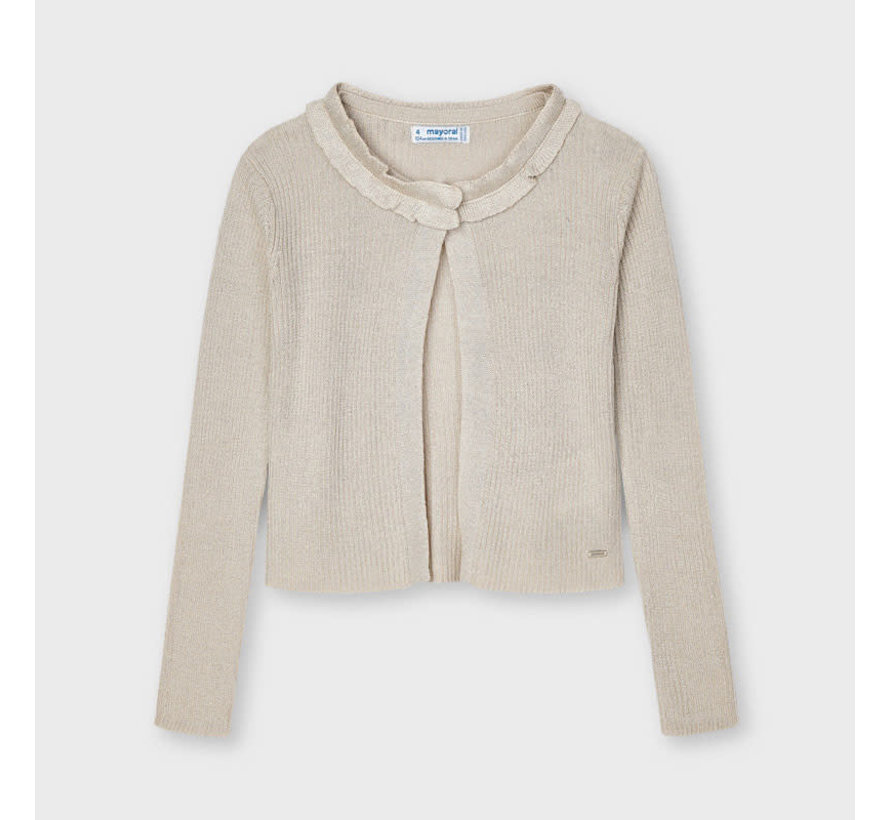 3325 knitted cardigan