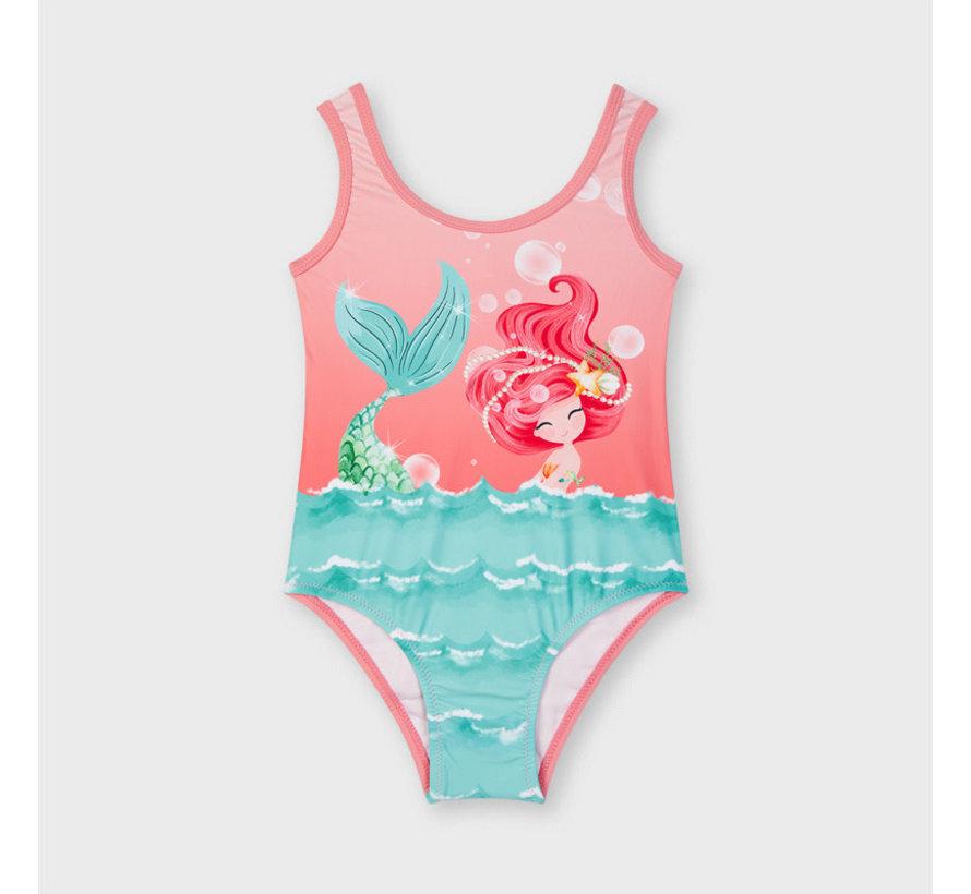 3746 graphic print swimsuit