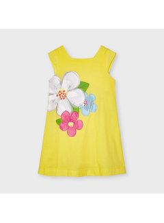 Mayoral 3956 printed dress flower