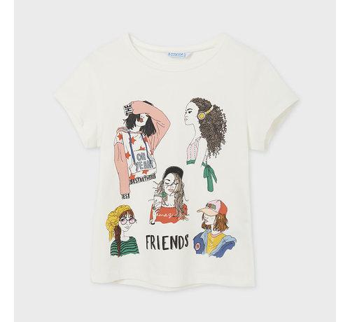Mayoral 6020 s/s printed t-shirt