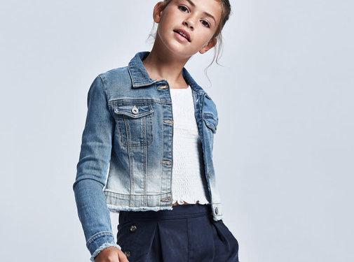 Mayoral 6470 jean jacket
