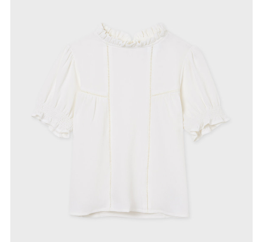 6174 fagotting blouse