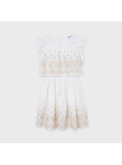 Mayoral 6919 linen dress
