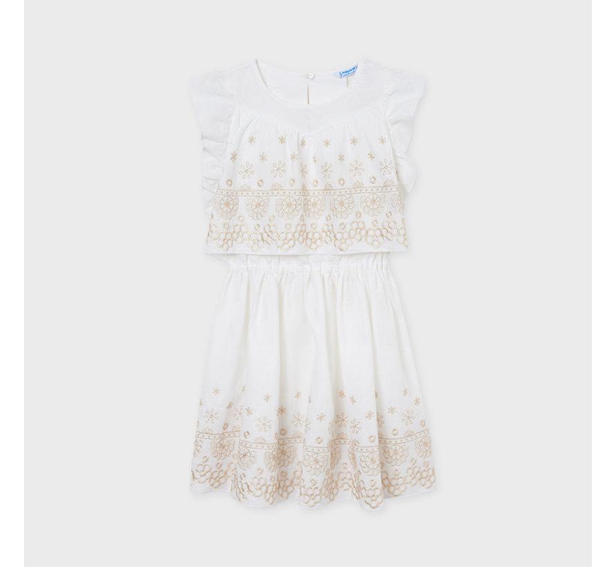 6919 linen dress