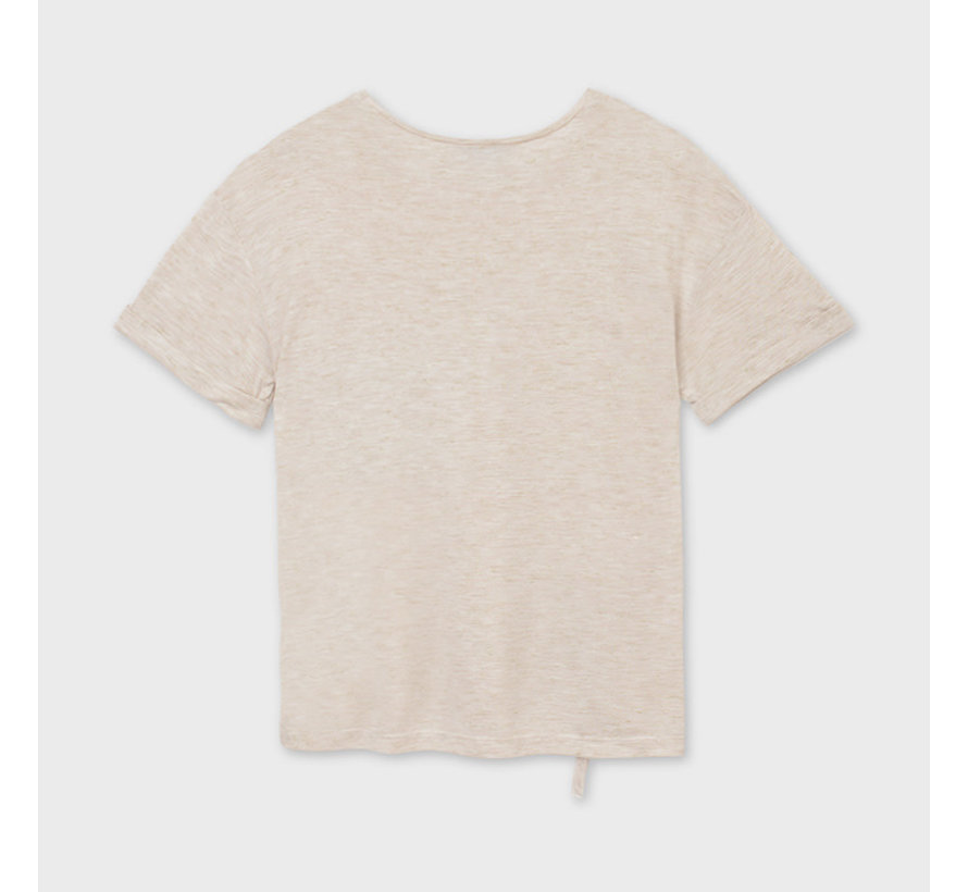 6011 t-shirt with sequin pocket