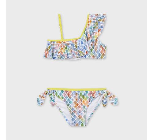 Mayoral 6733 ruffled bikini