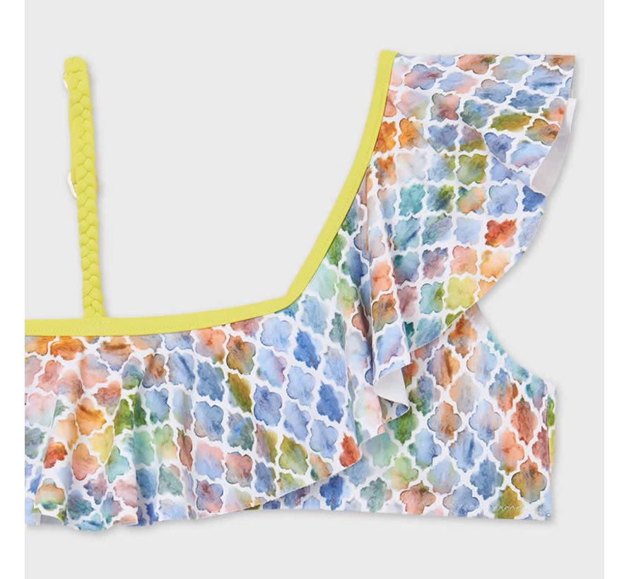 6733 ruffled bikini