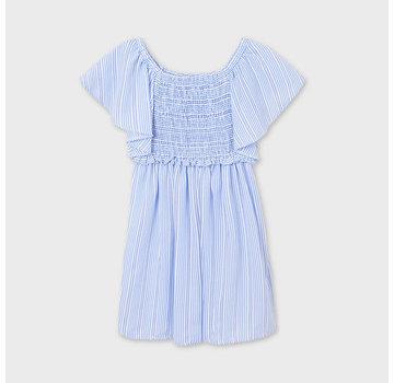 Mayoral 6934 stipped dress