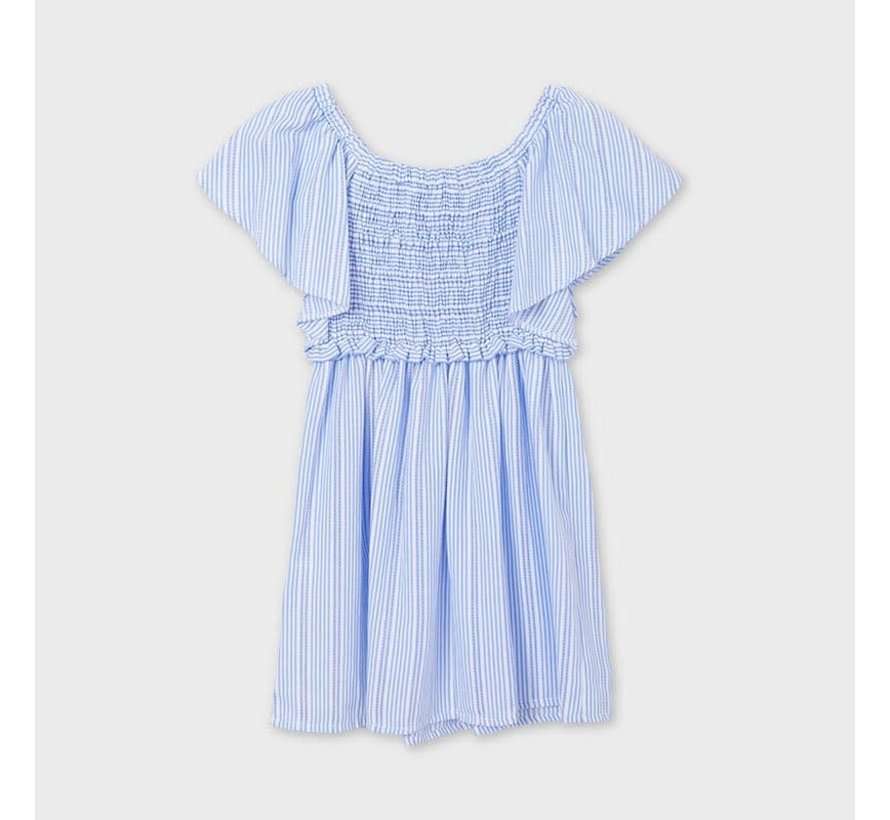 6934 stipped dress