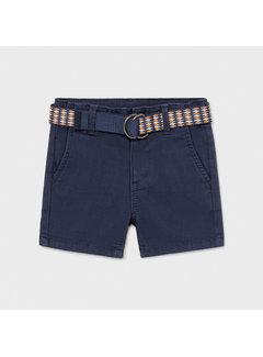 Mayoral 1238 pique shorts w/ belt