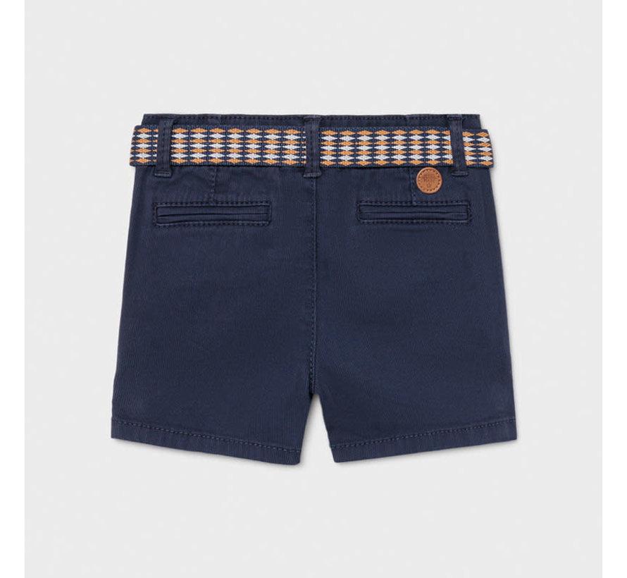 1238 pique shorts w/ belt