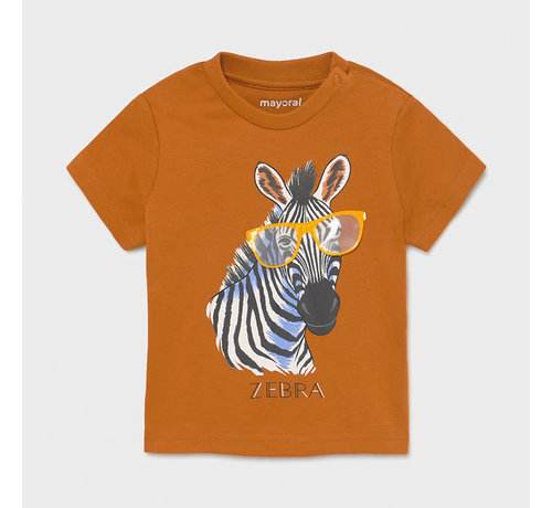 "Mayoral 1001 s/s t-shirt ""play"" zebra"