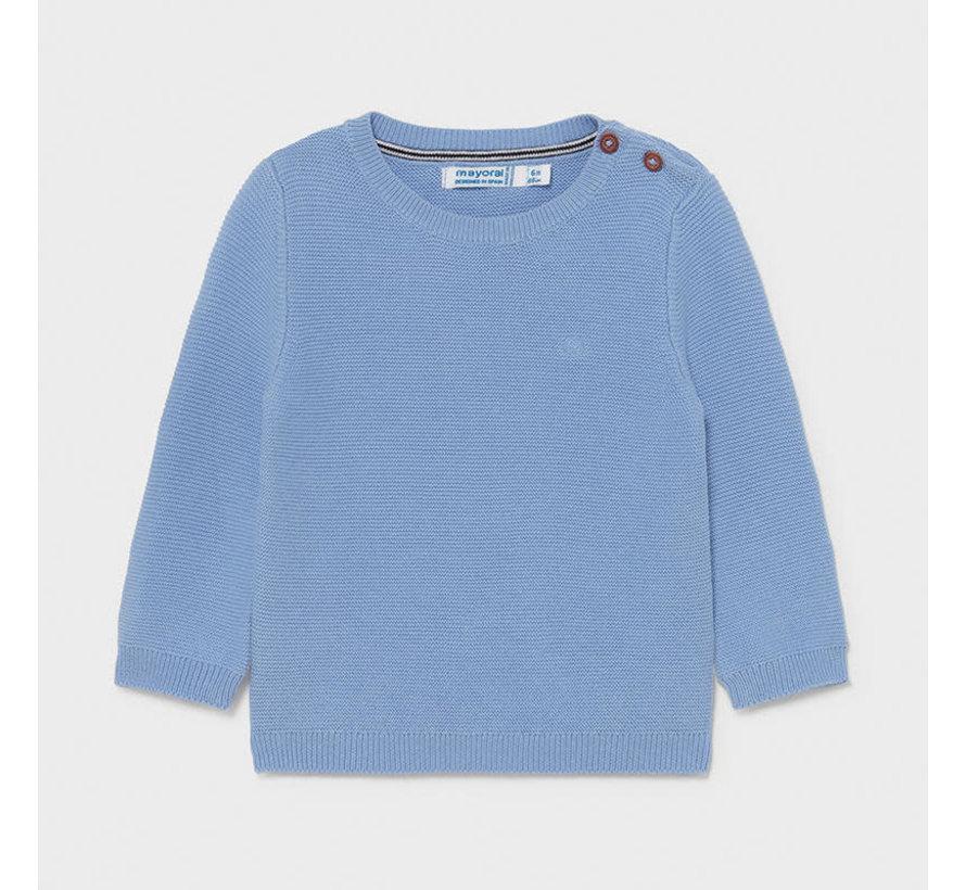 303 basic cotton sweater
