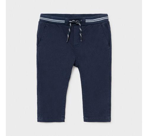 Mayoral 1585 patent waist twill pants