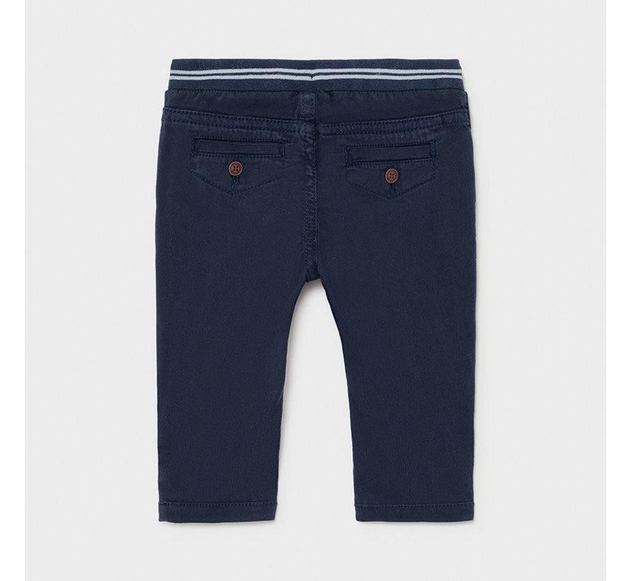1585 patent waist twill pants