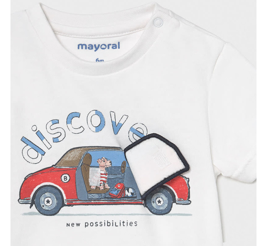"1006 s/s t-shirt ""play"" car"