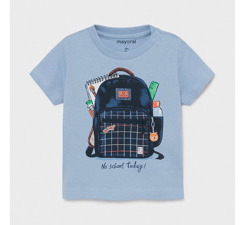 "Mayoral 1011 s/s t-shirt ""play"" backpack"