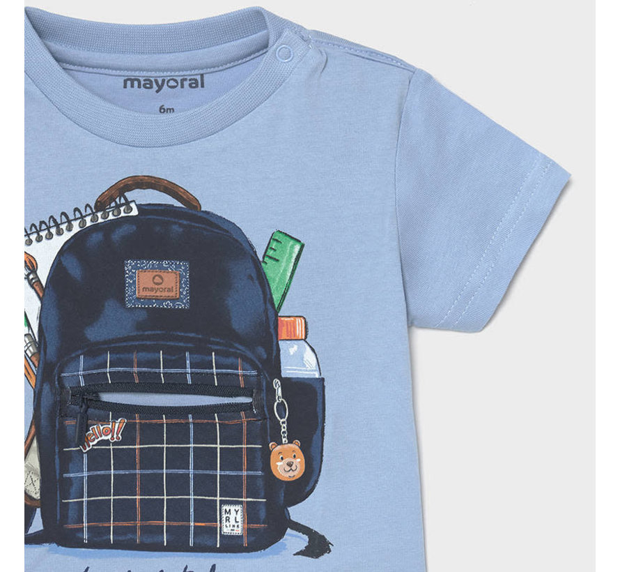 "1011 s/s t-shirt ""play"" backpack"