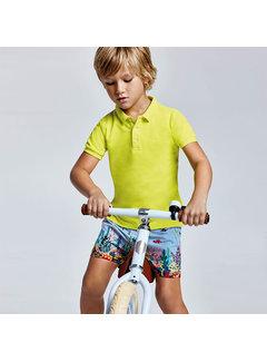 Mayoral 3650 printed swim shorts