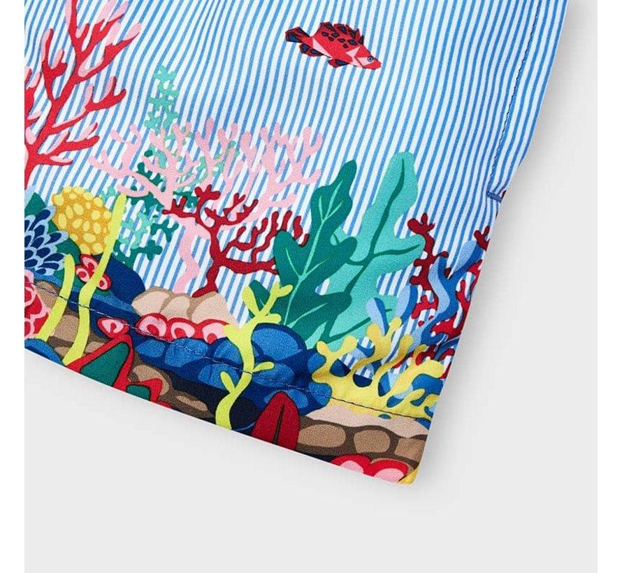 3650 printed swim shorts
