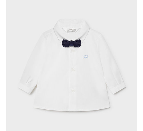 Mayoral 1175 l/s shirt and bowtie