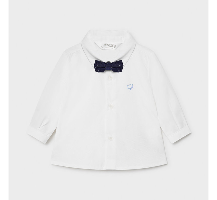 1175 l/s shirt and bowtie