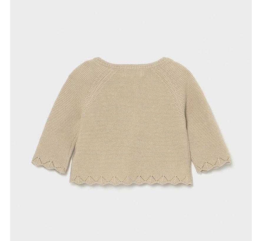 325 basic knit long cardigan
