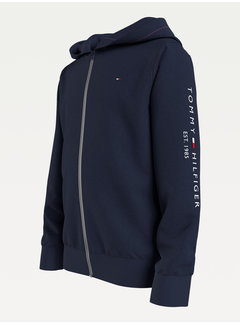 Tommy Hilfiger essential hooded zip through