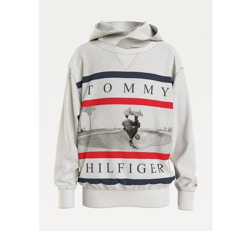 Tommy Hilfiger Colorblock photoprint hoodie