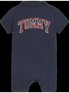 Tommy Hilfiger Baby Colorblock Polo shortall