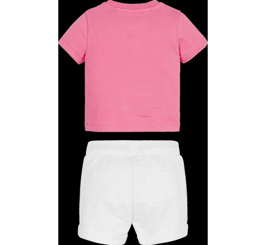 Baby sweatshort set