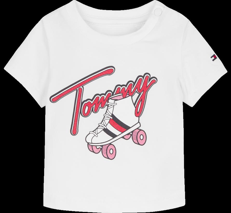 Baby rollerskating tee