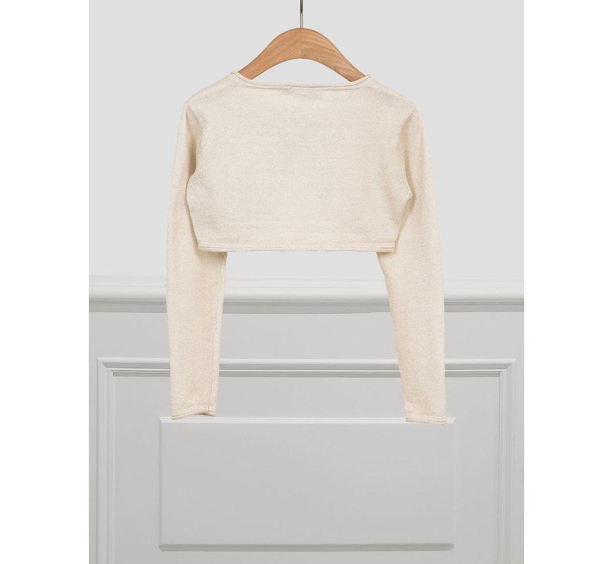 5320 basic knitted cardigan