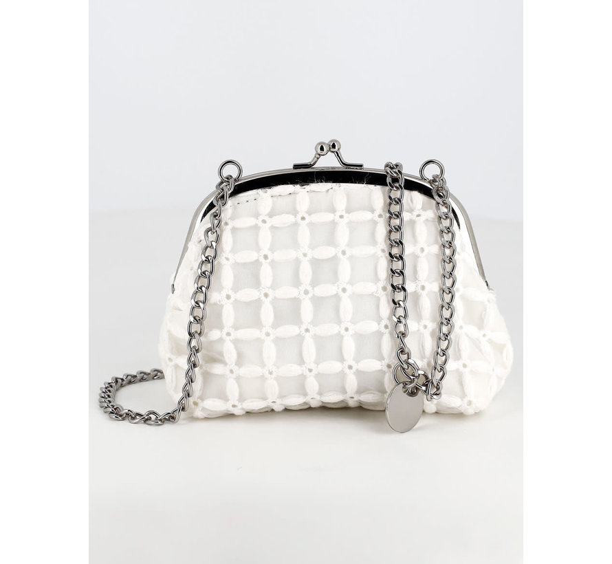 5461 embroidery coin bag