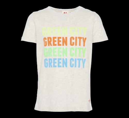Ao76 t-shirt c-neck green