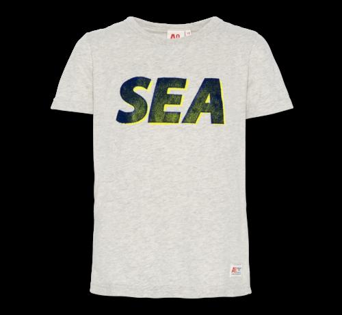 Ao76 t-shirt c-neck sea