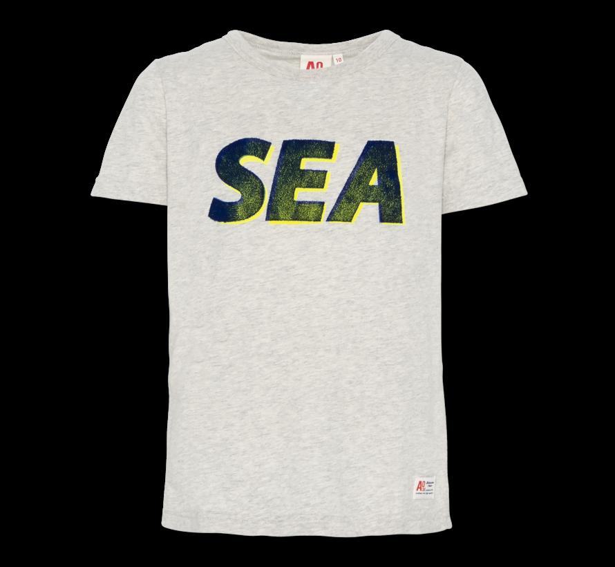 t-shirt c-neck sea