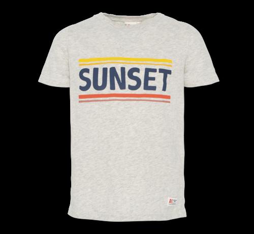 Ao76 t-shirt c-neck sunset