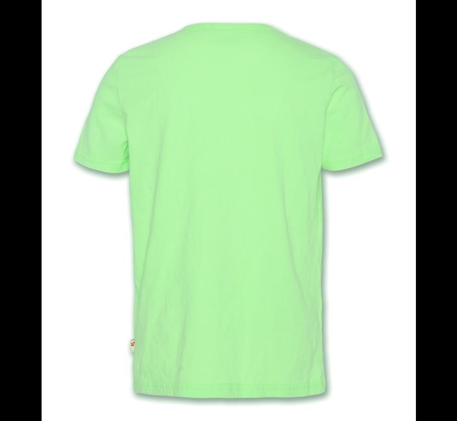 t-shirt c-neck fluo surf