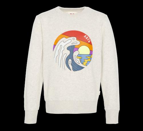 Ao76 c-neck sweater sea