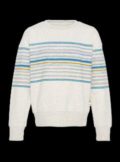 Ao76 c-neck oversized stripes
