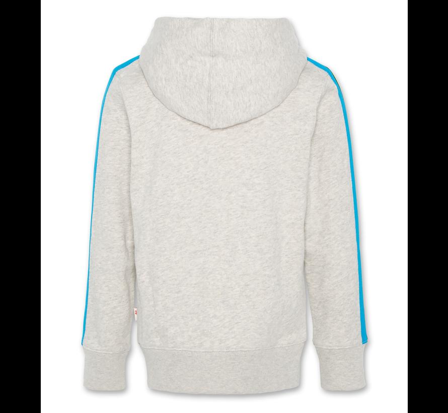 hoodie full zip tape