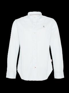 Ao76 turqoise striped mao shirt