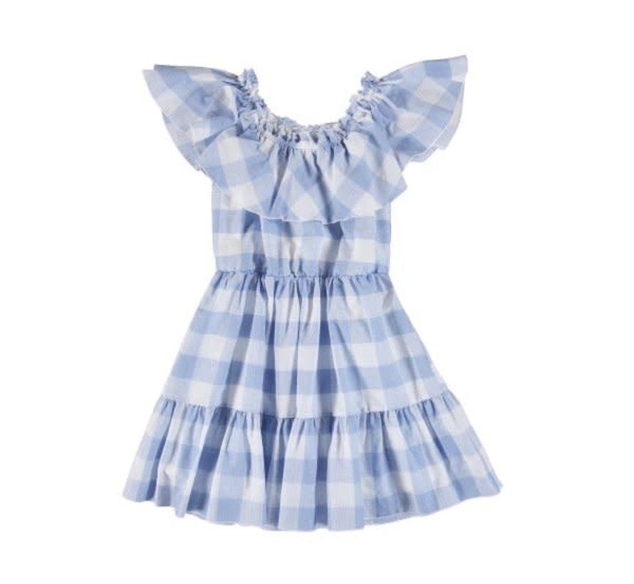 6925 plaid dress