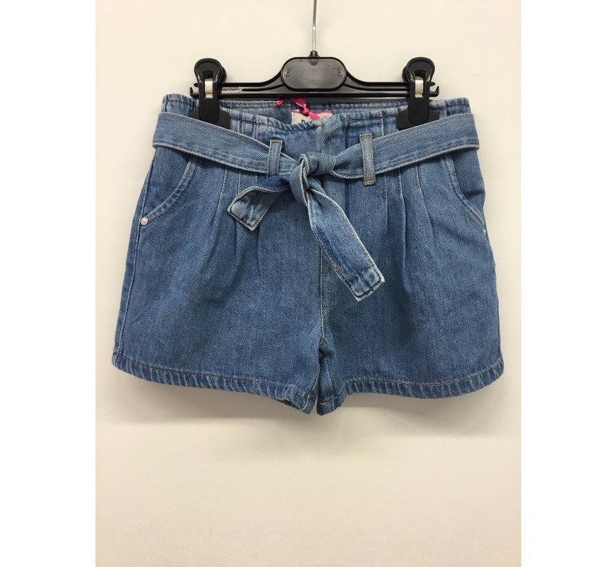 027184 shorts denim ragazza