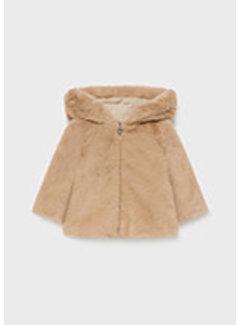 Mayoral 2436 Fur coat
