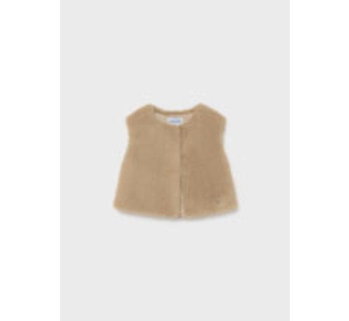 Mayoral 2390 Faux fur vest